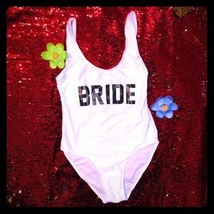 Other - 👰🏼 bride 1 piece swimsuit